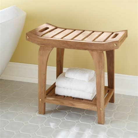 Badhocker Design Holz Gispatcher