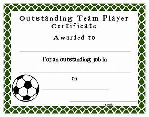 Sport Certificate Templates Soccer Certificate Templates Printable Professional And High Quality Templates