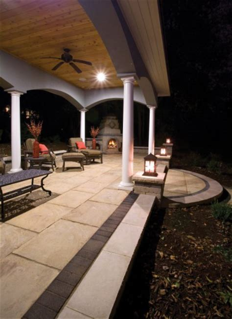 unilock yorkstone unilock patio and fireplace with yorkstone and series 3000