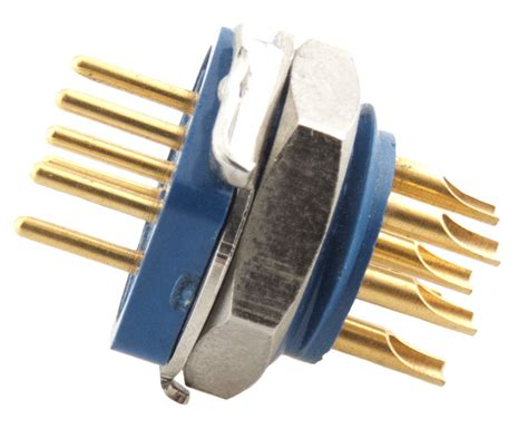 Amphenol 91T Series Microphone Connector 7 Pin