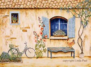 French Art Prints - French Country Art Prints of France