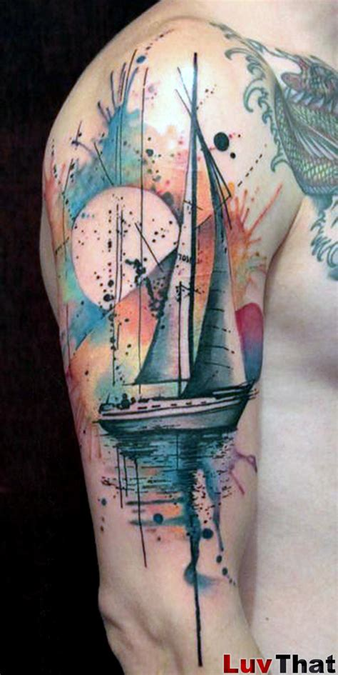 amazing watercolor tattoos luvthat