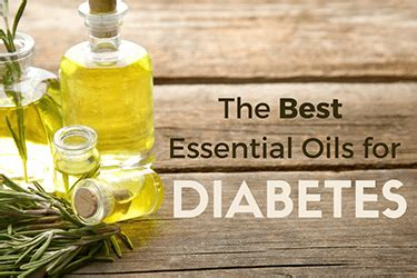 6 Best Essential Oils for Diabetes - Type 1, Type 2
