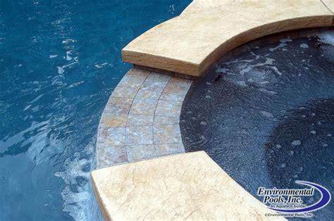 spa spillway   gunite swimming pool pool builders