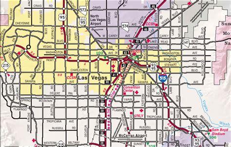 map  las vegas city pictures