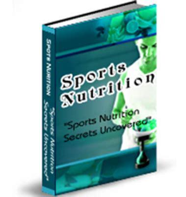 ultimate sports nutrition book  ebooks