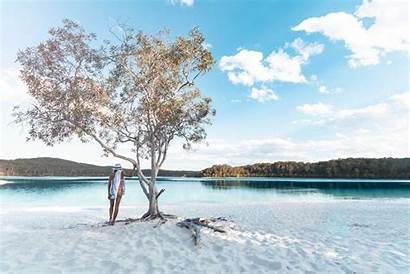 Lake Mckenzie Fraser Island Lakes Middle Many