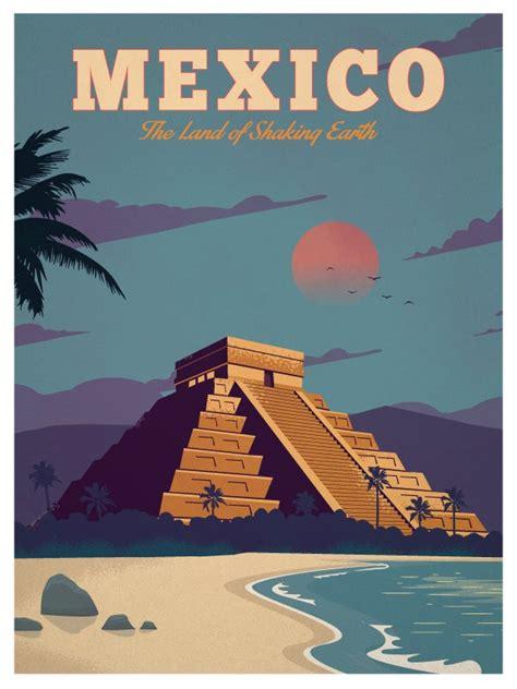 ideastorm studio store vintage mexico poster