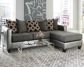 mulberry graphite 2 piece sectional modern living room