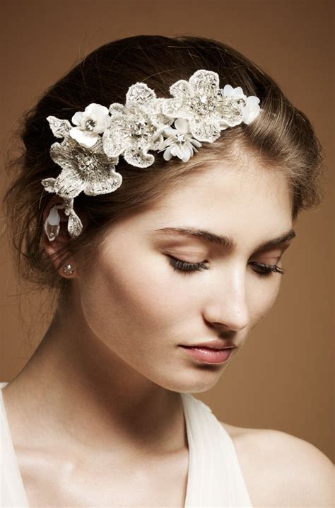 Bridal Accessories by 9 Heavenly Wedding Headdresses By Packham Onewed