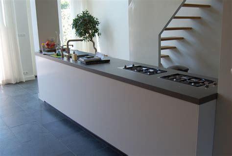 vrijstaande keukenkast keuken met losse koelkast