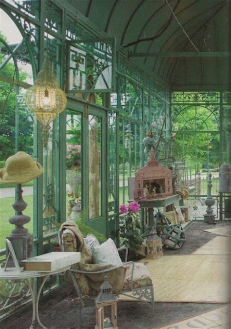 charming  inspiring vintage sunroom decor ideas