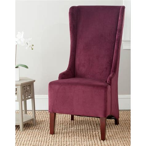 Safavieh Dining Chair by Safavieh Bacall Bordeaux Cotton Dining Chair Mcr4501k