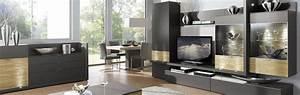 Möbel Wohnzimmer Modern : gwinner wohnzimmerm bel in hochglanz und holz bei m bel h ffner ~ Buech-reservation.com Haus und Dekorationen