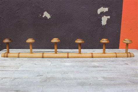porte manteau bois ancien ancien porte manteau mural en bois cir 233 imitation bambou