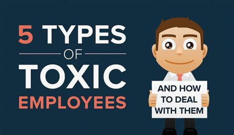 Optimizing Media Graphics How To Employees To Handle 5 Types Of Toxic Employees And How To Deal With Them