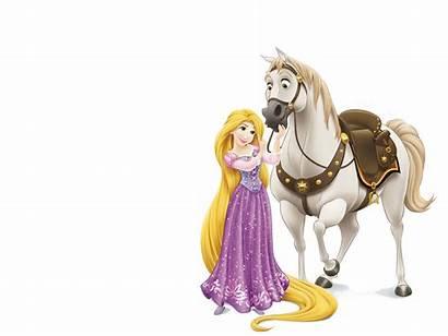 Rapunzel Maximus Horse Disney Transparent Background Template