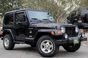 Used 2002 Jeep Wrangler Sahara For Sale   10 995