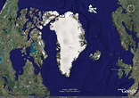 Greenland Map and Greenland Satellite Images