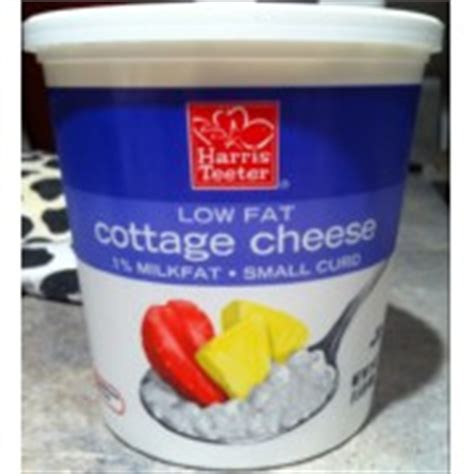 how many calories in lowfat cottage cheese harris teeter low cottage cheese calories nutrition