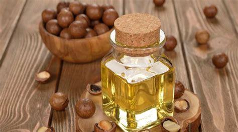 huile de macadamia cheveux visage pressee  froid