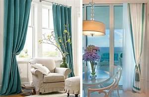 Embrasse Rideau Design : rideau turquoise en 33 id es exotiques pour chaque pi ce ~ Teatrodelosmanantiales.com Idées de Décoration