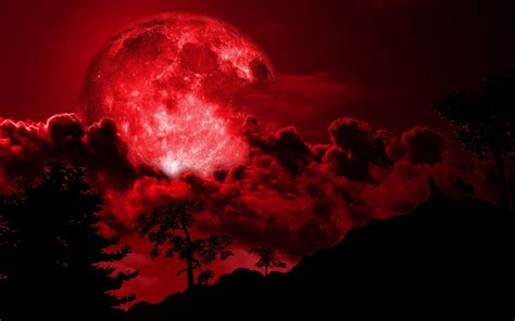 howl images   blood moon hd wallpaper  background