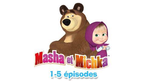 masha et michka collection 3 1 5 233 pisodes 30 minutes de dessins anim 233 s