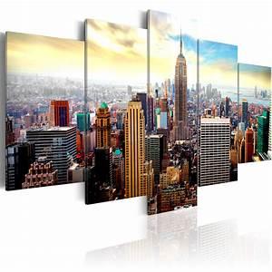 New York Leinwand : leinwand bilder xxl kunstdruck wandbild new york city skyline stadt 030211 62 ebay ~ Markanthonyermac.com Haus und Dekorationen