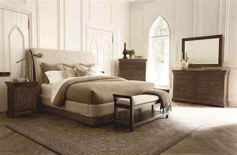 upholstered bedroom set st germain upholstered sleigh bedroom set from