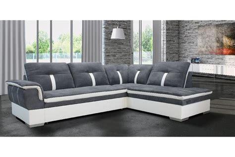 canapé d 39 angle marion microfibre design