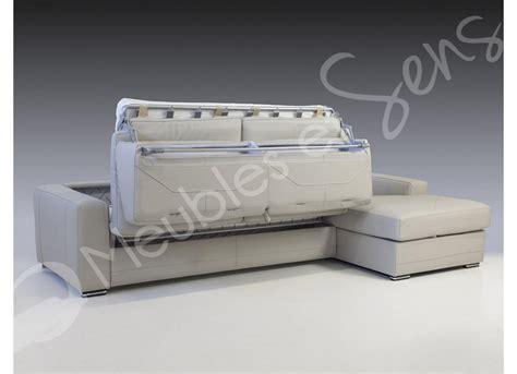 canapé lit vrai matelas canapé lit avec vrai matelas royal sofa idée de canapé
