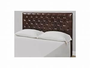 Tete De Lit Castorama : t te de lit 160cm cuir vieilli aurele l162 x p10 x h120 cm ~ Dailycaller-alerts.com Idées de Décoration