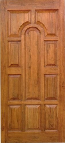 Wooden Door by Wooden Door 81x33 Half Padayappa Teak Wood Door