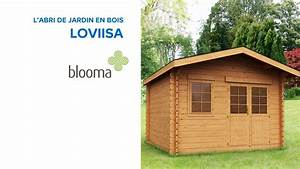 Abri De Jardin En Bois Loviisa BLOOMA 631205 Castorama