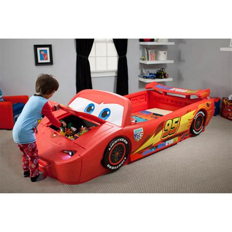 Lightning Mcqueen Toddler Bed by Delta Children S Products Convertible Toddler To Bed