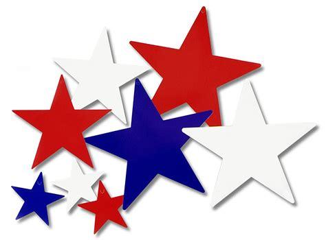 Red White Blue Stars Clipart (52