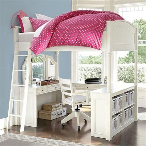 Chelsea Vanity Loft Bed by Chelsea Vanity Loft Bed Pbteen