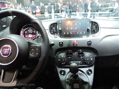 Interni 500s by Salone Di Ginevra 2016 Live Nuova Fiat 500s E 500s Cabrio