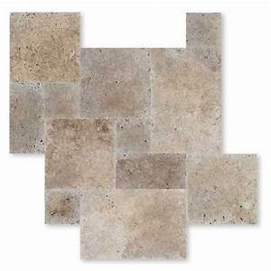 carrelage travertin pierre naturelle interieur beige 1er With carrelage interieur pierre naturelle
