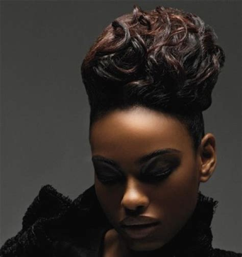 60 superb black wedding hairstyles