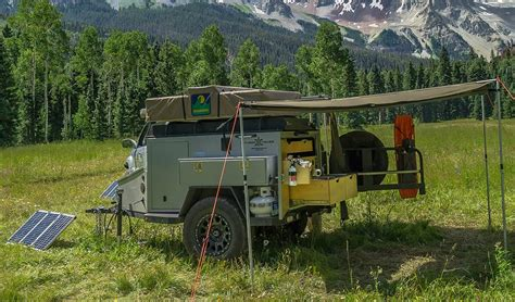 kitchen faucet installation road cing trailers 9 overland trailer options for