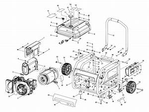 Homelite Ps903500 Parts List And Diagram