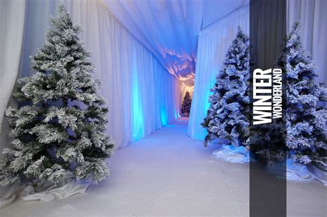 winter christmas theme winter wonderland themed events parties for hire