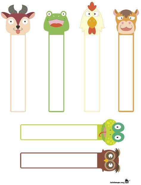 marque page animaux marque pages gratuits lulu la taupe jeux gratuits pour