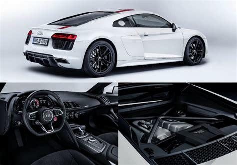 New Audi R8 V10 Rws Is A Rear-drive Supercar Series