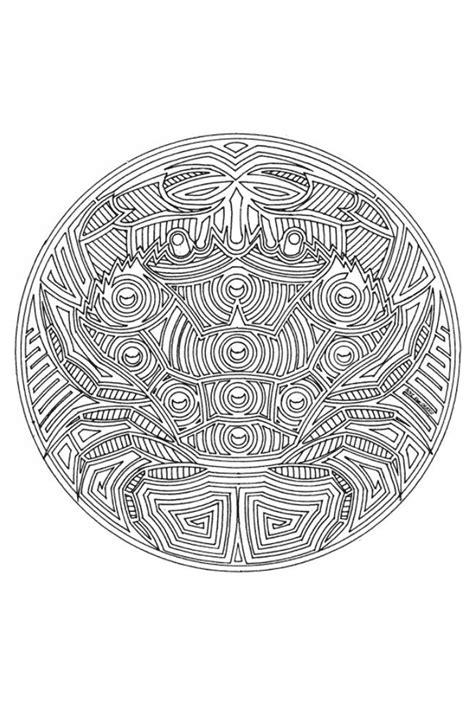 Spirituele Kleurplaten by Kleurplaten Mandala Dieren 187 Animaatjes Nl