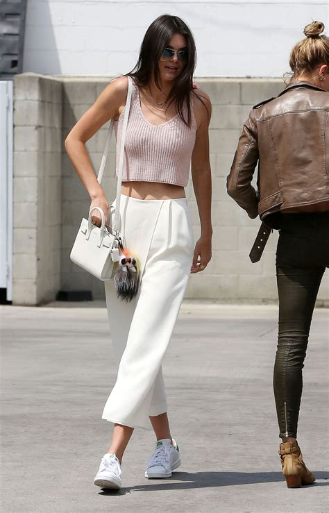 Kendall Jenner Casual Style - Out in LA April 2015