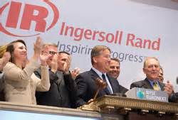 trane ingersoll rand company ingersoll rand rings nyse s closing bell 2013 05 13 achrnews