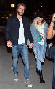 Liam Hemsworth acompañó a Miley Cyrus en el backstage de ...